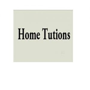 Private Tutions at home
